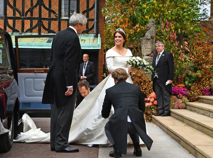 Фото №52 - Свадьба принцессы Евгении и Джека Бруксбэнка