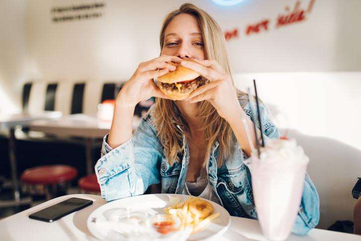 фастфуд вредная еда