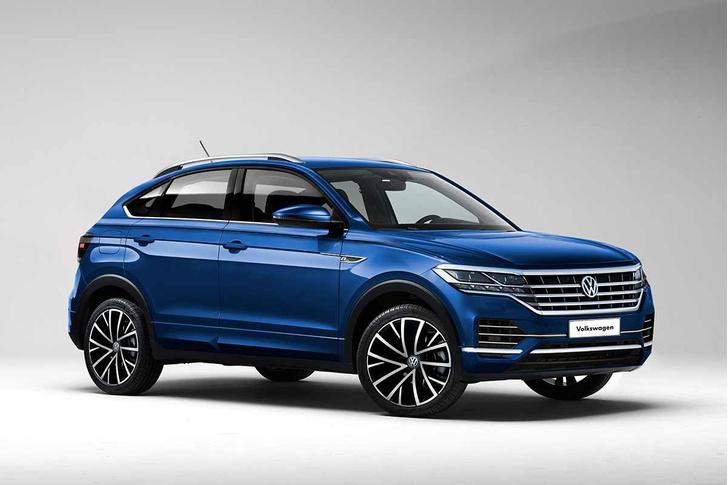 Серийный вариант VW Nivus будет выглядеть как-то вот так