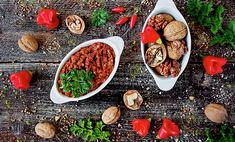 Грузинская аджика с грецкими орехами