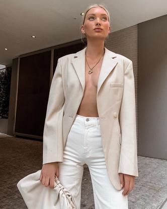Фото №6 - Стиль Эльзы Хоск: как одевается самая яркая топ-модель новой эпохи