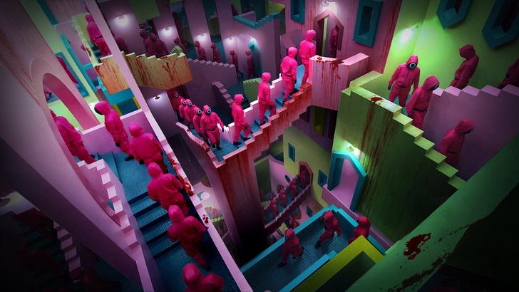 Фото №4 - Недетские игры: 3 причины посмотреть новую дораму от Netflix «Игра в кальмара»