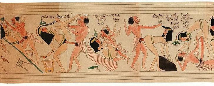 Фото №3 - Древнеегипетский эротический папирус, который из-за неприличного содержания скрывали в музее 150 лет
