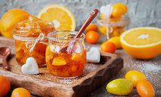 Чайное варенье с апельсиновыми цукатами
