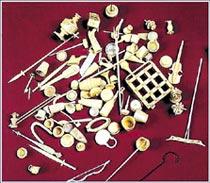 Фото №1 - Из чего делали бирюльки?