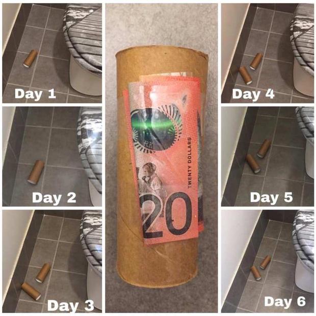 Фото №3 - Австралийка разбросала деньги по дому в надежде, что муж и дети возьмутся за уборку, но те ни о чем не догадались