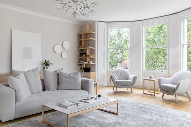 Фото №2 - Светлая скандинавская квартира в Лондоне