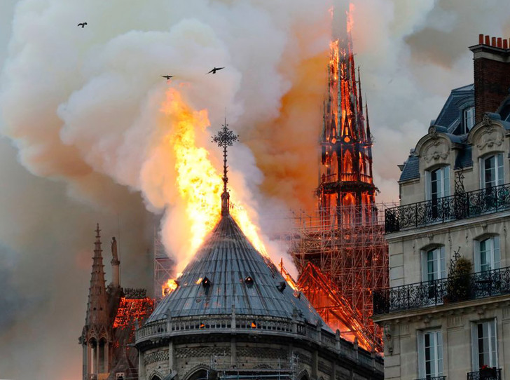 Фото №1 - Как будут восстанавливать cобор Парижской Богоматери