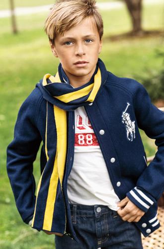 Фото №15 - В школу в поло: детский лукбук осенней коллекции Polo Ralph Lauren