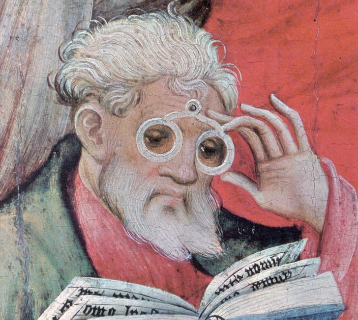 Фото №2 - 730 лет назад… изобрели очки