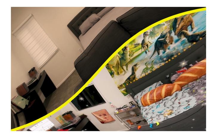 Фото №1 - Блогер предложил всем желающим помочь ему обставить комнату. Результат получился безумным и веселым (видео)