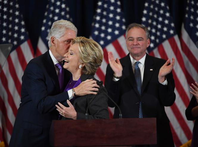 Фото №9 - Билл и Хиллари Клинтон: свободные отношения и слезы бывшей первой леди