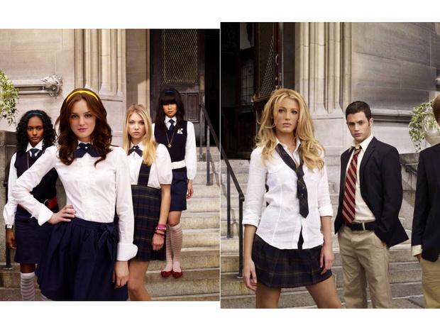 Фото №2 - Gossip girl fashion: 10 лучших образов Блэр и Серены из «Сплетницы»