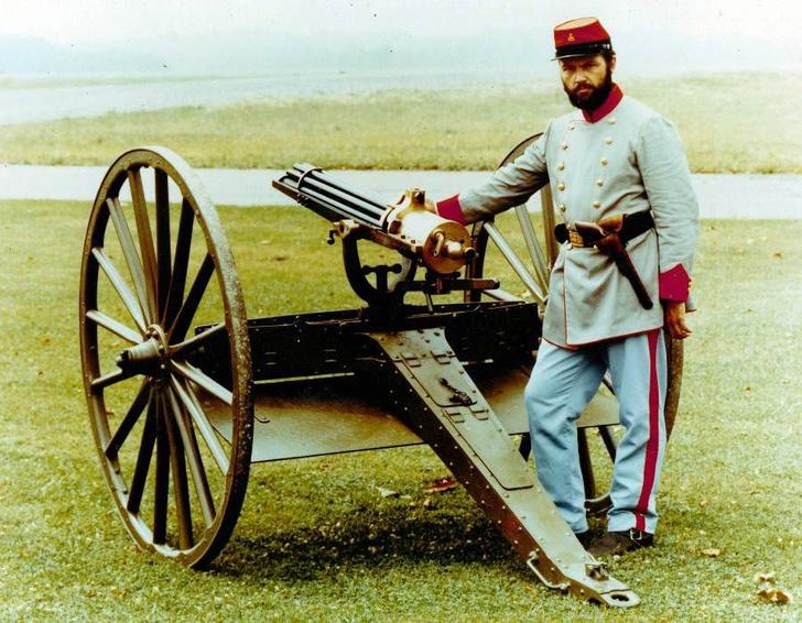 Фото №3 - Гатлинг-ган— пулемет, который не был пулеметом
