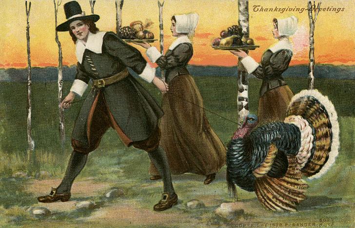 Фото №1 - День благодарения: история помилования индейки