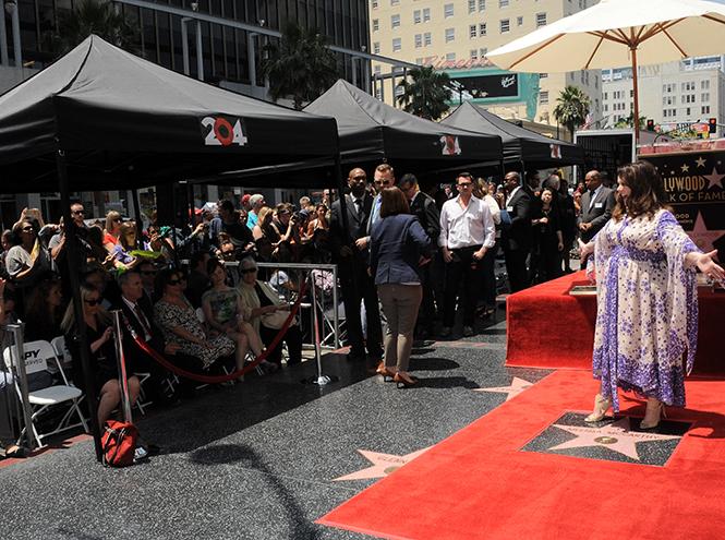 Фото №9 - Мелисса МакКарти удостоена звезды на Аллее cлавы