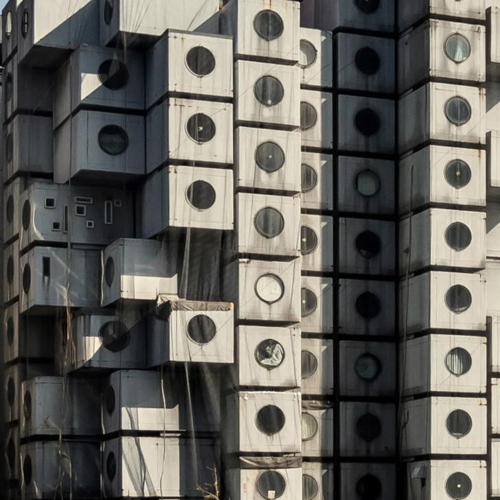 Фото №3 - Капсульная башня Накагин в Токио будет демонтирована