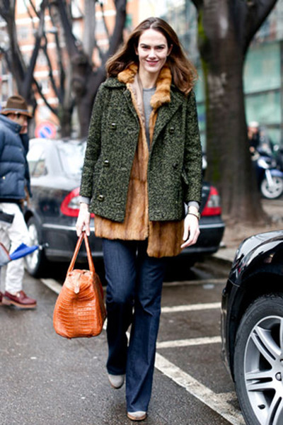 Street style сНедели моды вМилане