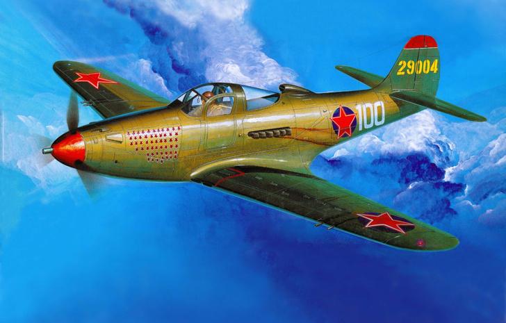 Фото №1 - «Аэрокобра» Покрышкина: американская хищница для советских асов