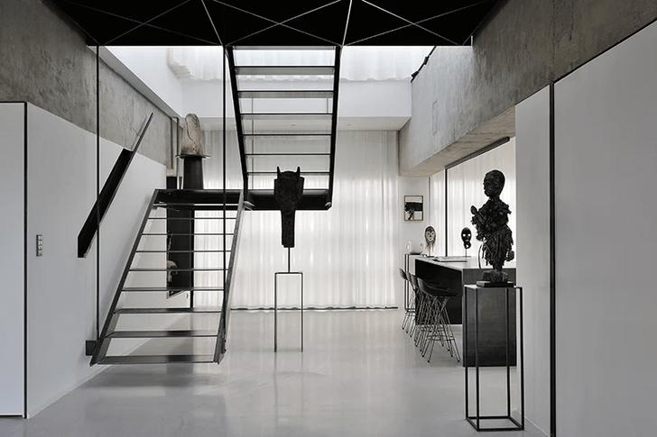 Фото №5 - Апартаменты в бывшей котельной в Лионе