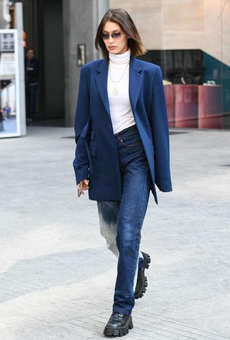 Белла Хадид в Милане