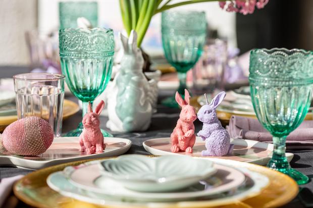 Фото №11 - Украшаем стол к Пасхе: идеи декора от Анны Муравиной