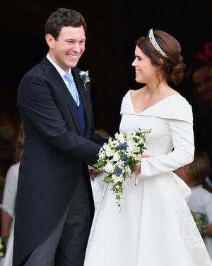 Фото №4 - Шаг навстречу: как Гарри и Меган поздравили Евгению с беременностью