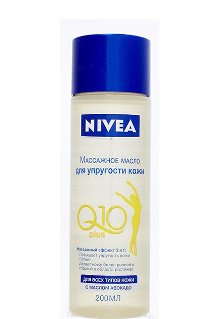массажное масло для упругости кожи Q10 Plus, Nivea
