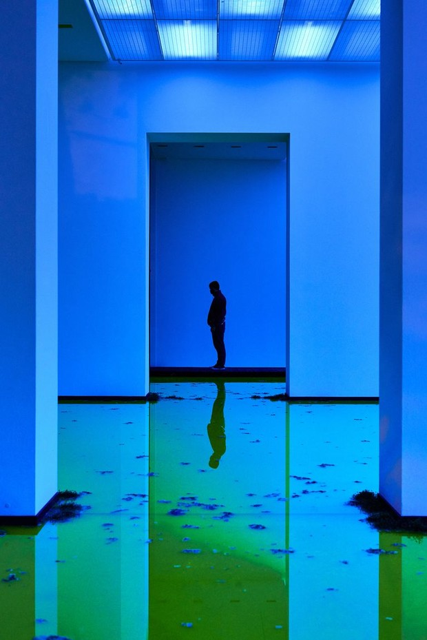 Фото №8 - Инсталляция Олафура Элиассона в Базеле