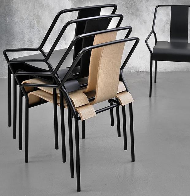 Фото №9 - Топ 15: штабелируемые стулья и мебель