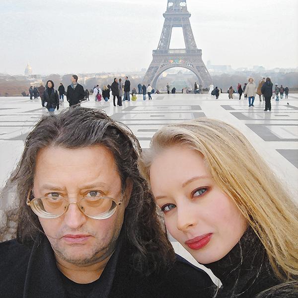 Александр с женой Мариной