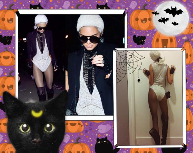 Фото №1 - Лучшие костюмы звезд с прошедшего Хэллоуина