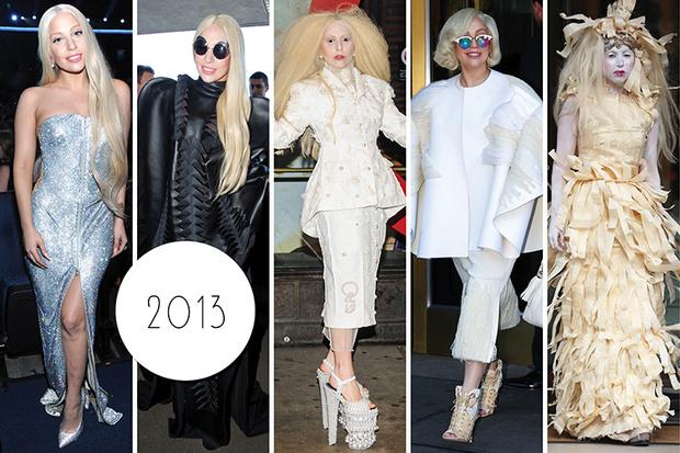 Эволюция стиля Леди Гаги: 2013 год