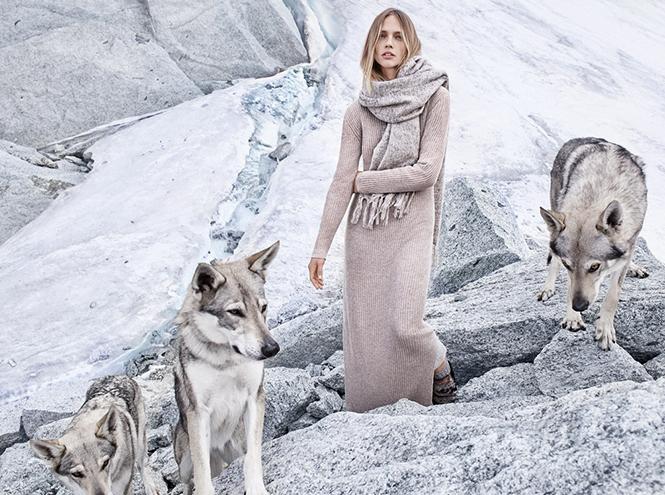 Фото №11 - Саша и волк: Саша Пивоварова для Mango