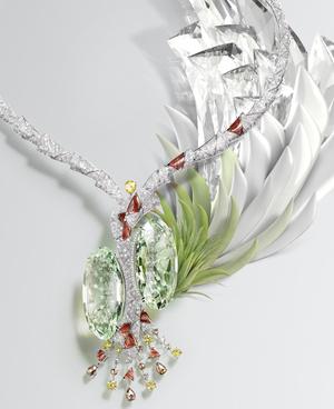 Фото №3 - Геометрия, калейдоскопические эффекты, контрасты цветов и оттенков в коллекции высокого ювелирного искусства Cartier [Sur]Naturel