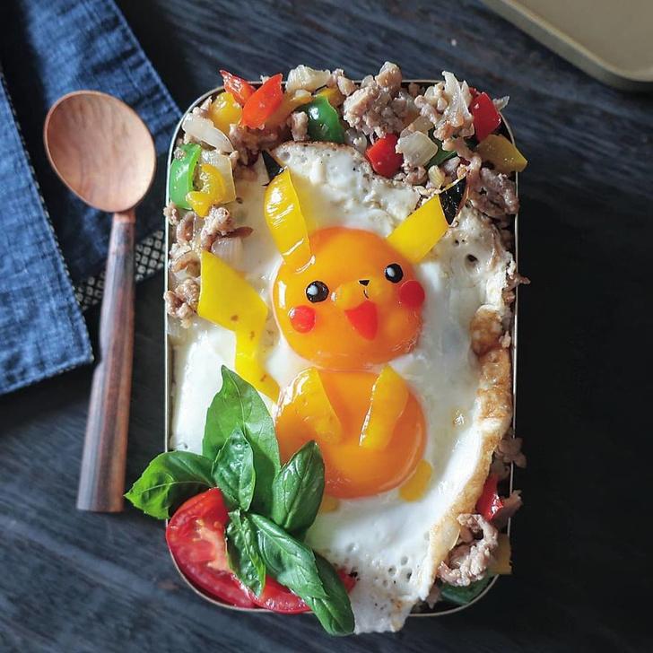 Фото №1 - Невероятно исполненные завтраки от японской мамы (галерея)