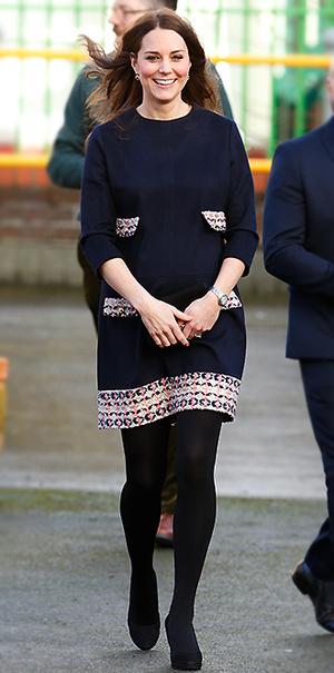 Фото №3 - В модном положении: две беременности герцогини Кембриджской (сравним?)