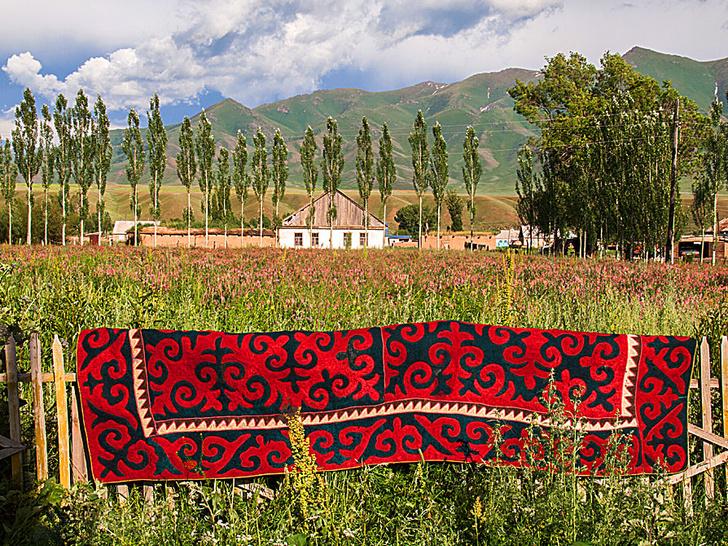 Фото №1 - Киргизия: ковер