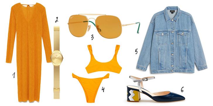 Фото №4 - Разноцветные очки – наш выбор на лето: как носить и с чем сочетать?