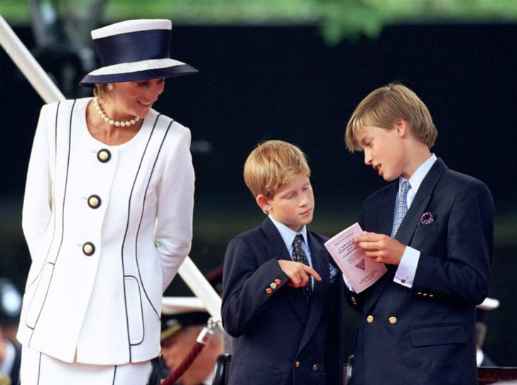 Фото №2 - Дворецкий принцессы Дианы — о разладе между Гарри и Уильямом