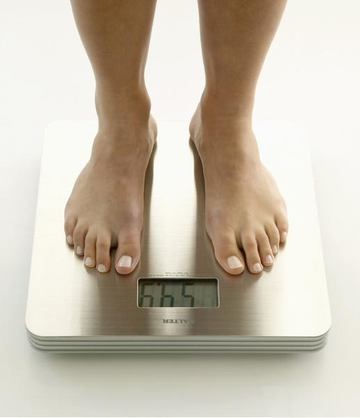 Вес остановился.