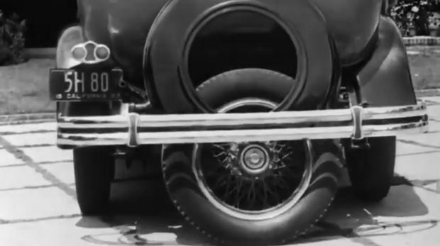 Фото №1 - Технологии будущего начала XX века: парковочный ассистент (видео)