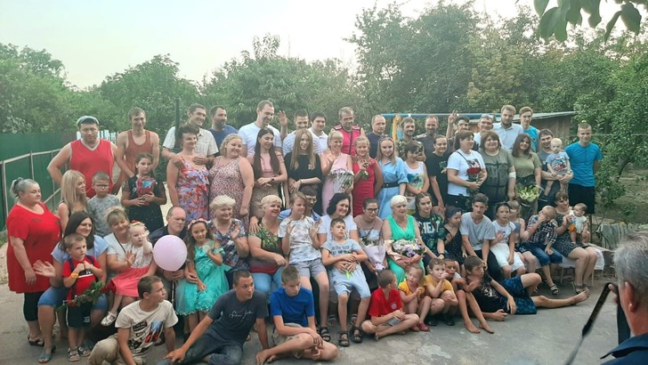 Самая многодетная мама России отметила юбилей