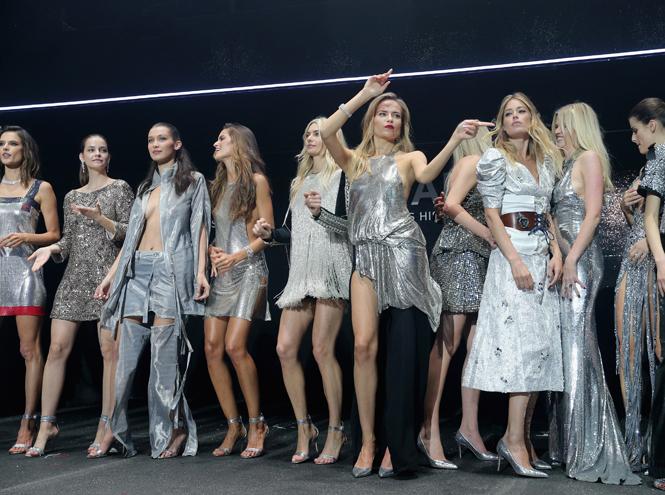 Фото №1 - amfAR 2016: искрометное шоу с топ-моделями и девушки с молотка