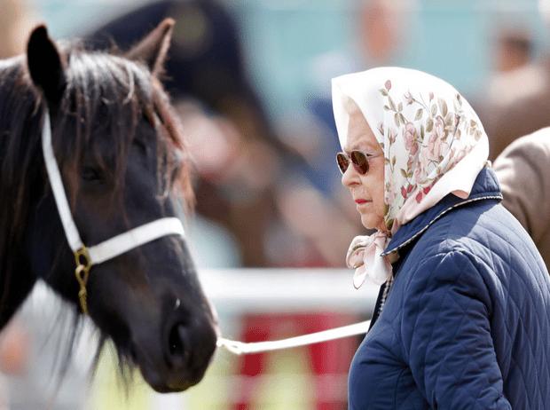Фото №3 - Всегда на коне: 93-летняя Королева продолжает кататься верхом