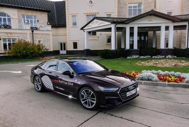 Фото №1 - Audi Golf Cup 2019: турнир и презентация новой Audi
