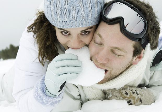 Фото №1 - Как приготовить съедобный снег