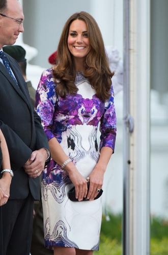 Фото №9 - Королевский дресс-код: любимые сумки герцогини Кембриджской