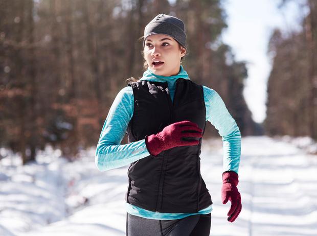Фото №1 - Правила бега в холодное время года
