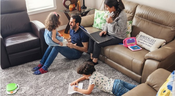 Who lives well in isolation: tips for large families